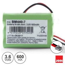 Bateria NI-MH AAA 3.6V 600ma - Join