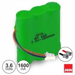 Bateria NI-MH AA 3.6V 1600ma - JOIN