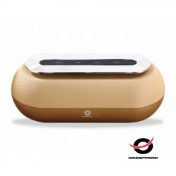 Coluna Bluetooth 10w GOLD - Conceptronic DUNKAN