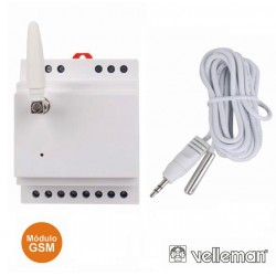 Módulo De Controlo GSM Calha DIN - 1 Canal