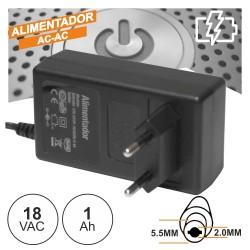 ALIMENTADOR AC-AC 18V 1A
