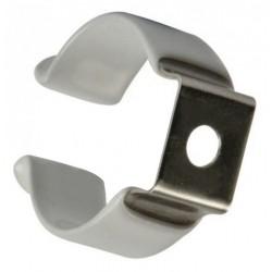 Abraçadeira Metal C/ Revestimento P/ Lâmpada LED T8