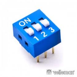 Interruptor Dip 3 Posições Velleman