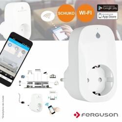Tomada Eletrica WIFI 1 Saída C/ App FERGUSON