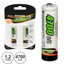 Bateria NI-MH AA 1.2V 4700MA 2X BLISTER