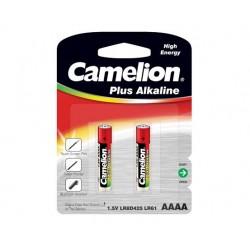 Pilha Alcalina LR61/AAAA 1.5V 2X BLISTER - CAMELION