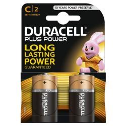 Pilha Alcalina C LR14 1.5V (BL 2) - Duracell Plus