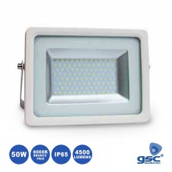 Projector Led 50w 220v Ip65 6000k 4500lm Branco - GSC
