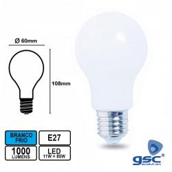 Lâmpada LED E27 11w 6000k 1000lm 360º - GSC