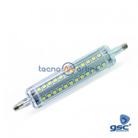 Lampada led r7s 118mm 10w 6000k 1000lm dimavel gsc for Lampada led r7s 118mm