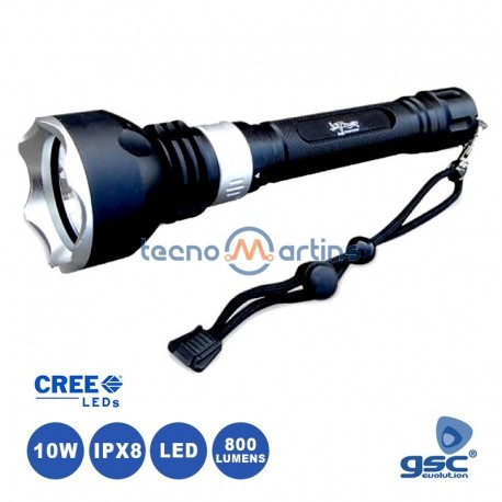 Lanterna Led 9W 60lm Multiusos C/ Carregador USB - GSC