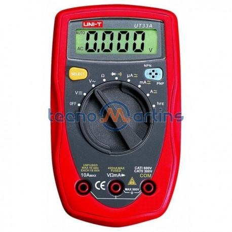 Multimetro Digital Uni-T Ut33A