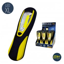 Lanterna LED 3w 200lm XL C/ Iman e Gancho - EDM