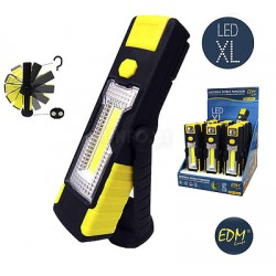 Lanterna 1 Led 3w + 1 Led 200lm C/ Iman XL Dupla - EDM
