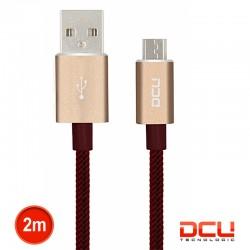 Cabo Usb 2.0 A Macho / Micro Usb B Macho Vermelho Pl 2mt - DCU