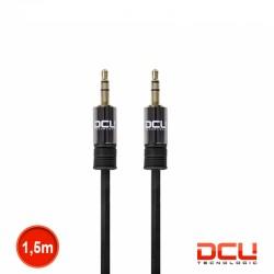 Cabo Jack 3.5mm Stereo Macho/Macho Preto 1.5mt - DCU