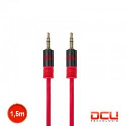 Cabo Jack 3.5mm Stereo Macho/Macho Vermelho 1.5mt - DCU