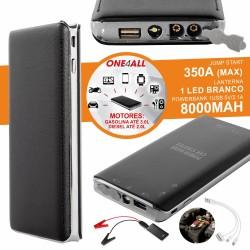 Arrancador Baterias AUTO 350A C/ USB LED