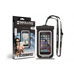 Bolsa impermeável para Smartphone SEAWAG Preto/Branco