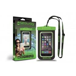 Bolsa impermeável P/ Smartphone SEAWAG Preto/Verde