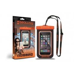 Bolsa Impermeável para Smartphone SEAWAG Preto/Laranja