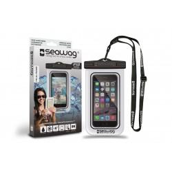Bolsa impermeável P/ Smartphone SEAWAG Branco/Preto