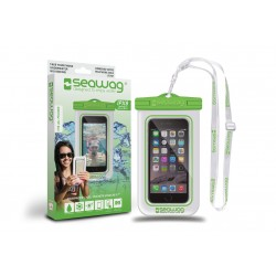 Bolsa Impermiavel para SmartPBolsa Impermiavel P/ SmartPhone SEAWAG Branco/Verde