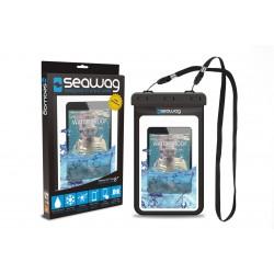 """Bolsa Impermeável para Tablet 8"""" - SEAWAG Preto"""