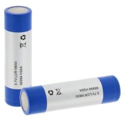 Bateria Lithium 18650 3.7V 2200mA Recarregável