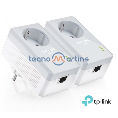 TP-Link Powerline Adaptador AV500 Pass Through TL-PA4010P KIT