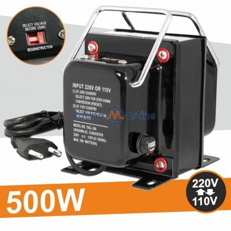 Conversor AC/AC 220/110V 500W