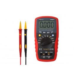 Multímetro Digital 3¾ Dígitos Escala Automática 15A - Velleman