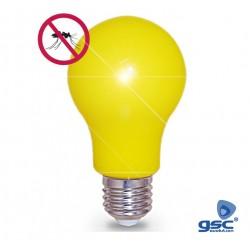 Lâmpada LED Anti-Mosquitos E27 5w 450lm Amarela - GSC