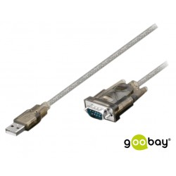 Cabo Adaptador Usb / Conversor / Rs232 - 1.5Mt