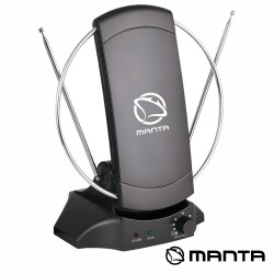 Antena de Tdt Com Base Magnética