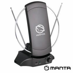 Antena TDT Interior Amplificada 20DB - MANTA