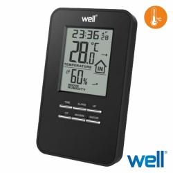 Termómetro Digital Interior Relógio c/ Alarme