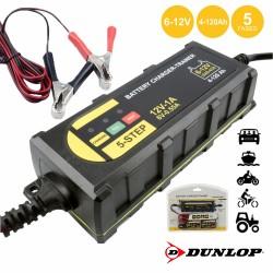 Carregador Baterias Chumbo Auto 6-12v 4-120A - Dunlop