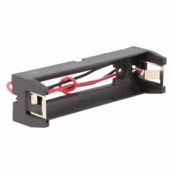 Suporte Pilhas MR18650 P/ Soldar C/ Fios