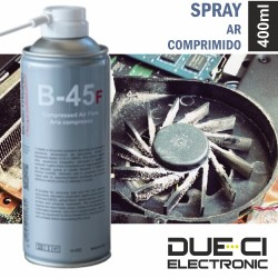 Spray Ar-Comprimido 400ml - Due-Ci