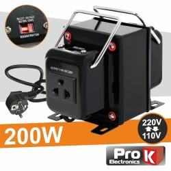 Conversor 110v-220v / 220v-110v - 200w