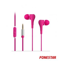Auscultadores X2 Rosa - FONESTAR