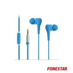 Auscultadores X2 Azul - Fonestar