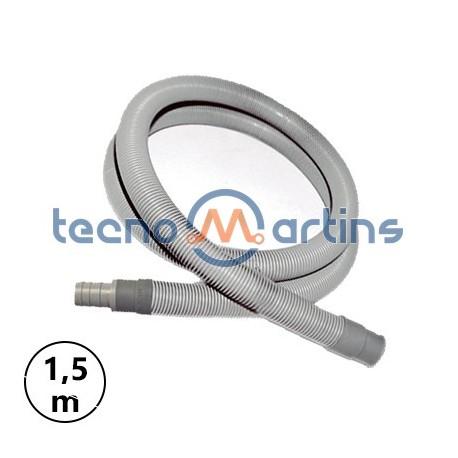 Tubo Esgoto 1,5mts Recto M/F Flexivel