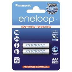 Bateria Ni-Mh AAA 1.2V 750mA 2X Panasonic