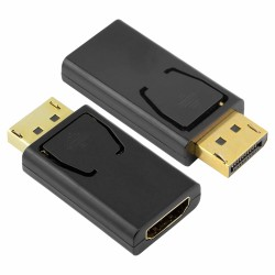 Ficha Adapt. Displayport Macho / Hdmi Fêmea