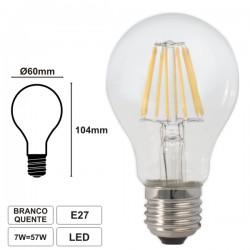Lampada LED Filamento E27 7w Globo 2700k 750lm - WELL