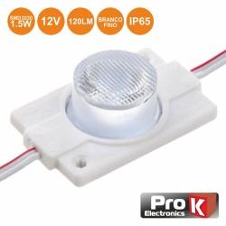 Modulo Led C/ 1 Leds 3030 Branco Frio 120lm 12V IP65 - PROK
