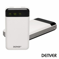 Power Bank 5600Ma c/ Leds + Ficha Micro Usb E Iphone 30p/8P
