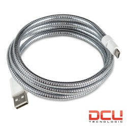 "Cabo Usb 2.0 ""A"" Macho / Micro Usb Metal (FLEX-STRONG) 1mt - DCU"